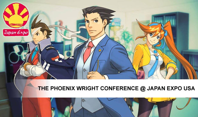 phoenix-wright conference-japan-expo-usa