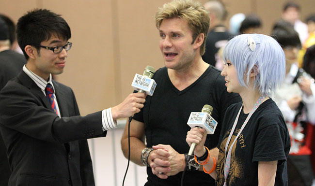Vic Mignogna Brief Interview @ Sakura-Con 2013