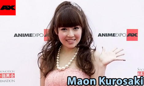 Maon Kurosaki (黒崎 真音) Interview @ Anime Expo 2011