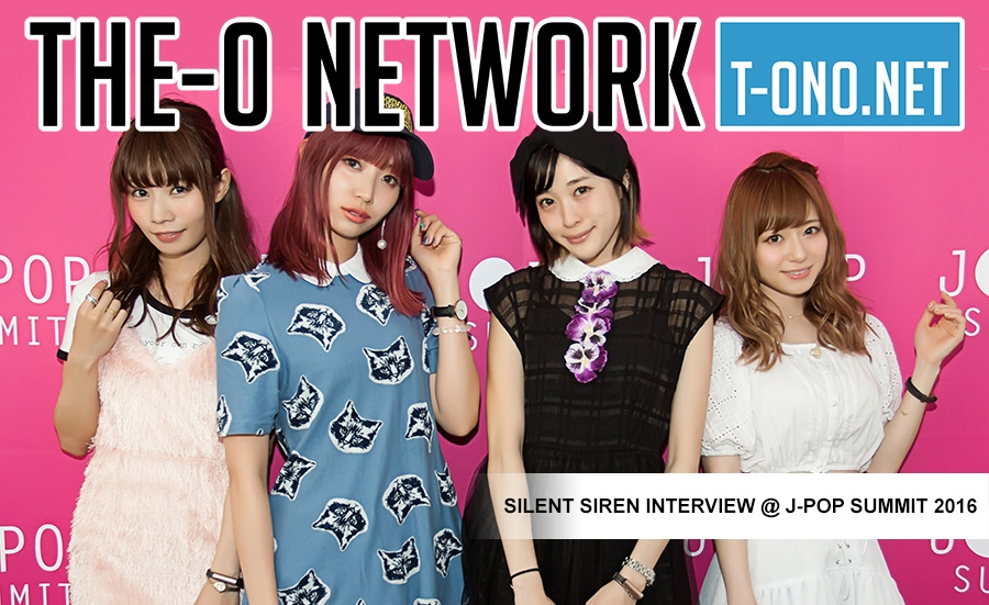 Silent Siren Interview @ J-POP Summit 2016