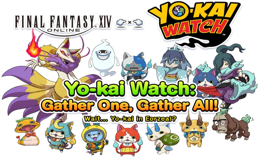 Gather One, Gather All – FFXIV X Yo-Kai Watch Collaboration