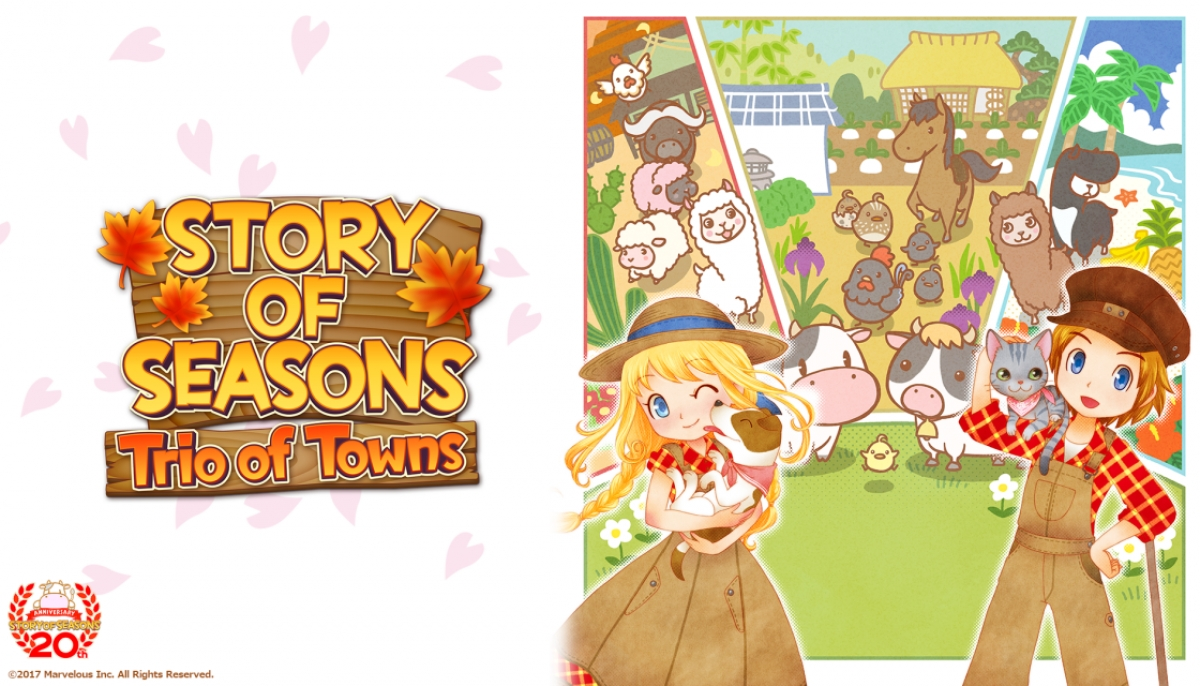 Story of Seasons: Trio of Towns (3DS) Review