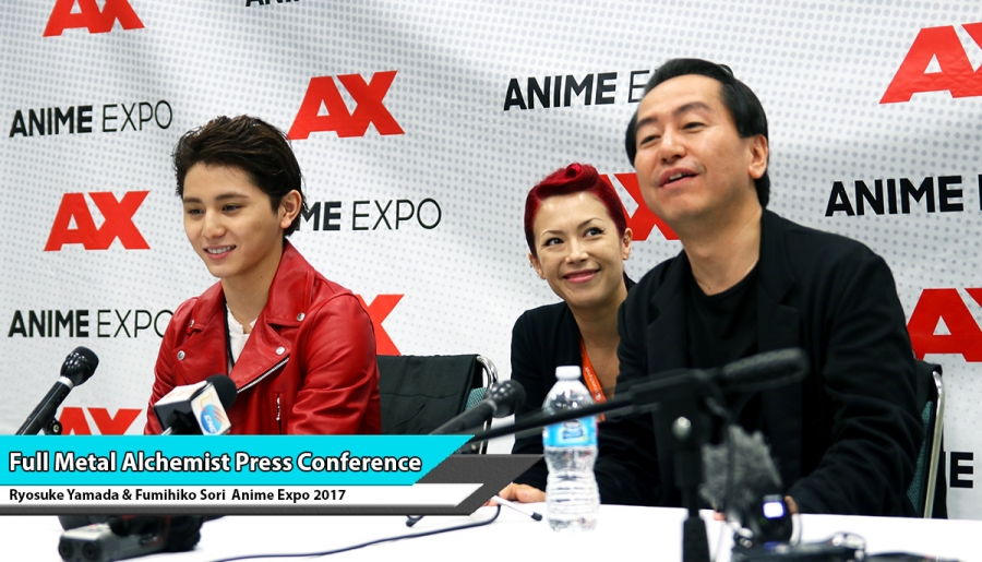 Full Metal Alchemist Press Conference @ Anime Expo 2017