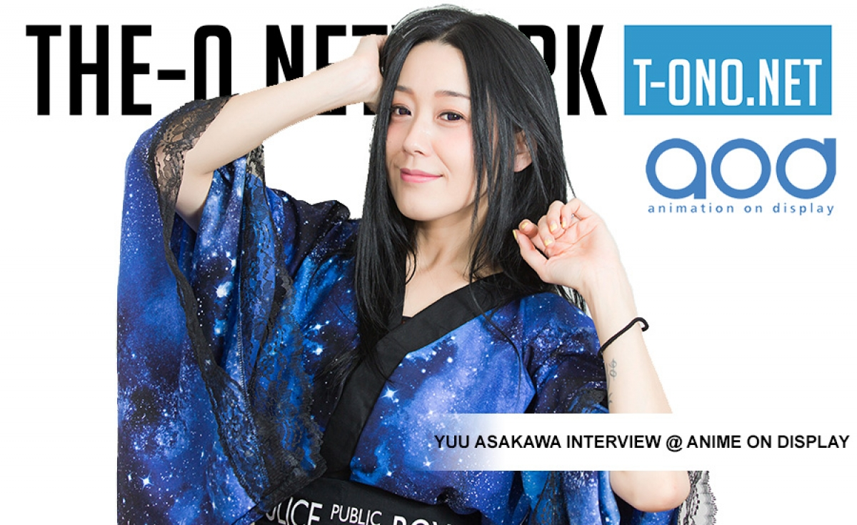 Yuu Asakawa Interview @ AOD 2016
