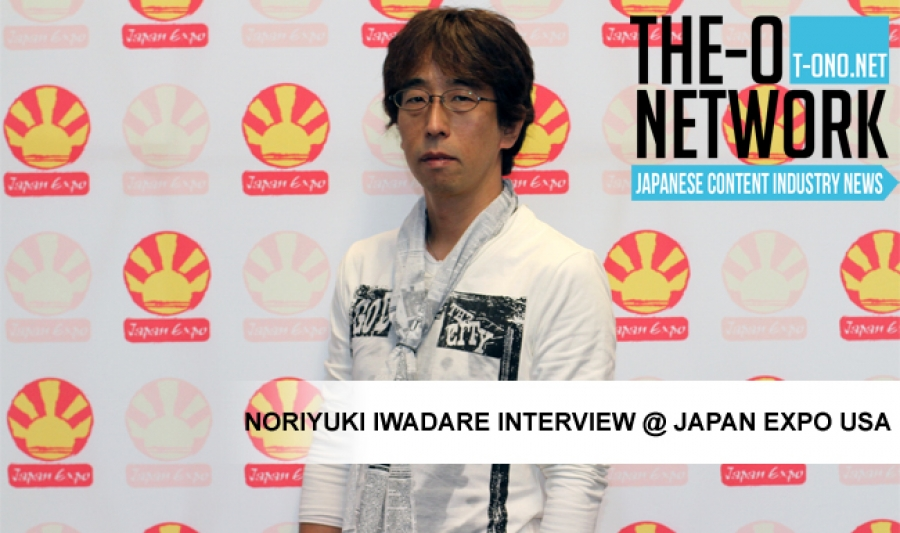 Noriyuki Iwadare Interview @ Japan Expo USA