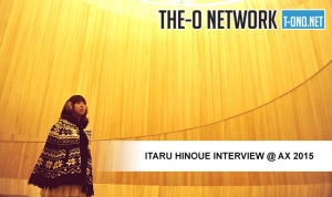 Itaru Hinoue Interview @ Anime Expo 2015