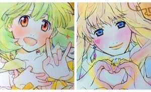 Macross Frontier Sketches Sells for $7.5K Each