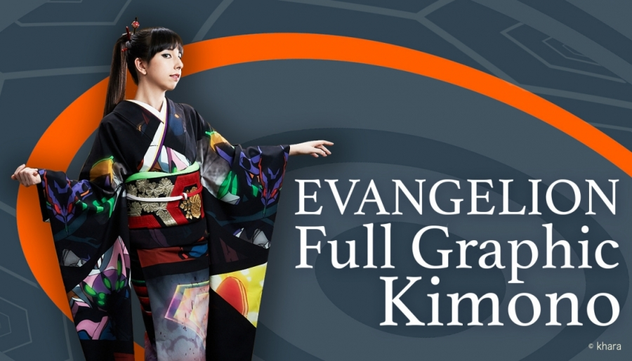 Fans Worldwide Choose Design for EVANGELION x Full Graphic Kimono Project!