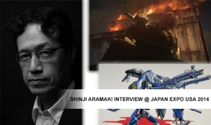 Shinji Aramaki Interview @ Japan Expo USA 2014