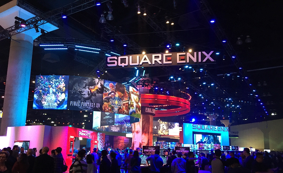 Square-Enix E3 2016 Booth Tour