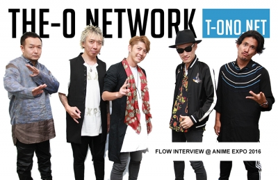 FLOW Interview @ Anime Expo 2016