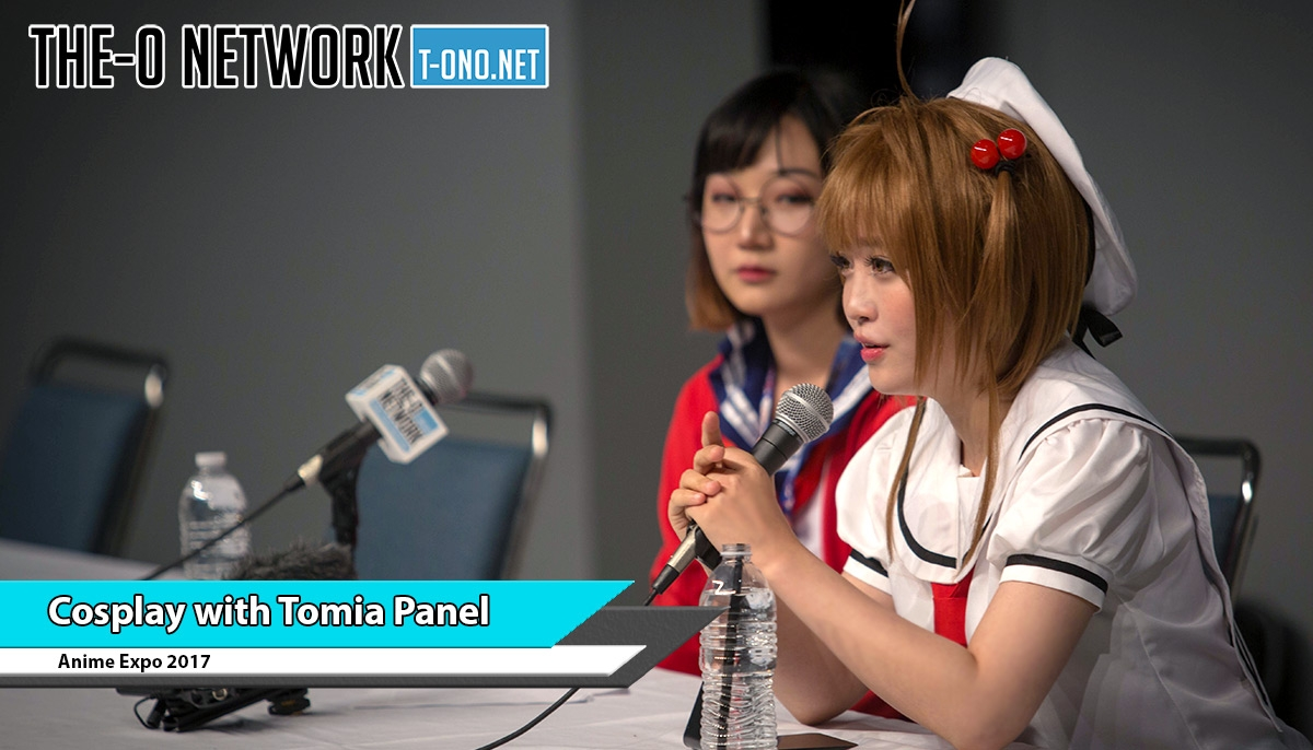 Cosplayer Tomia Q&A Panel @ Anime Expo 2017